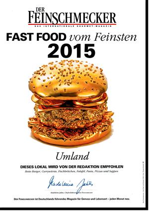 Feinschmecker-Medialle 2015