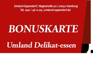Bonuskarte bei Umland Eppendorf